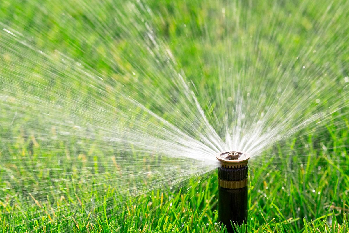 sprinklers maintenance